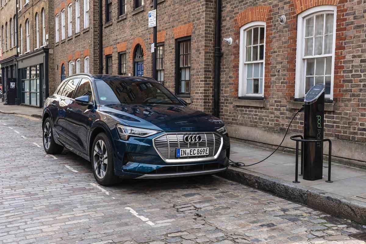 Audi E Tron Front Parked