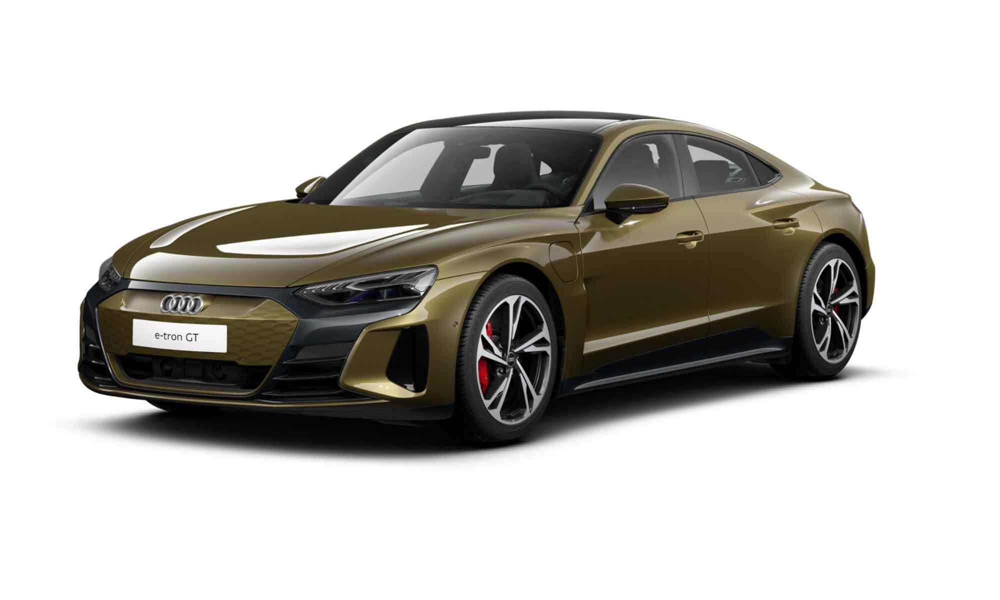Audi Etron Gt White Background