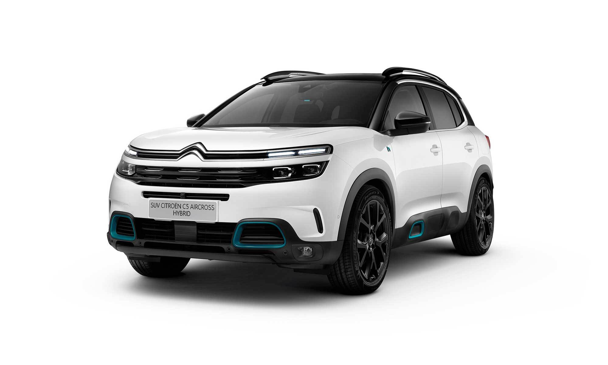 C5 Aircross White Background