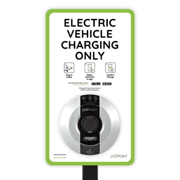 Commercial Solo Charger And Sign