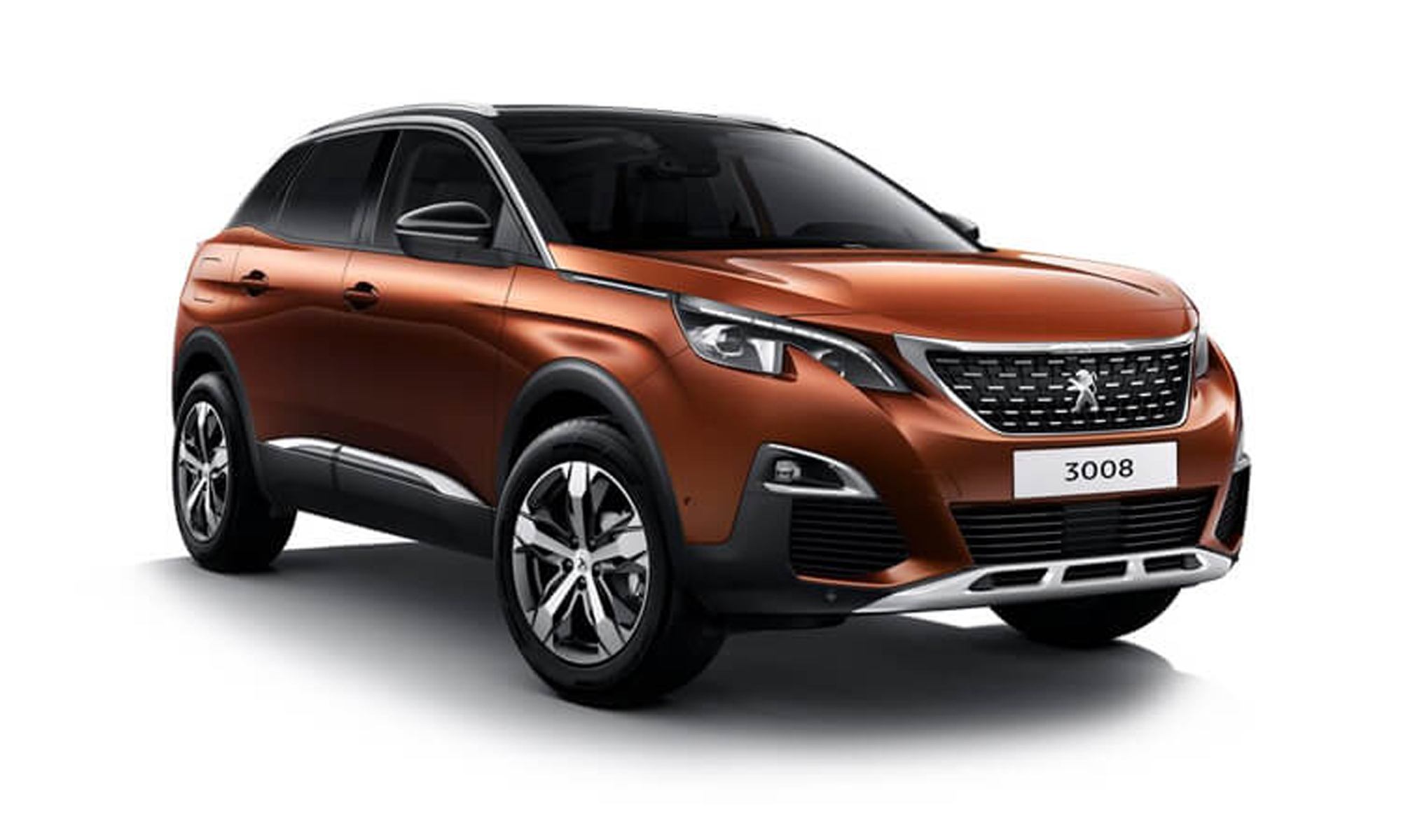 Peugeot 3008 Suv White Background