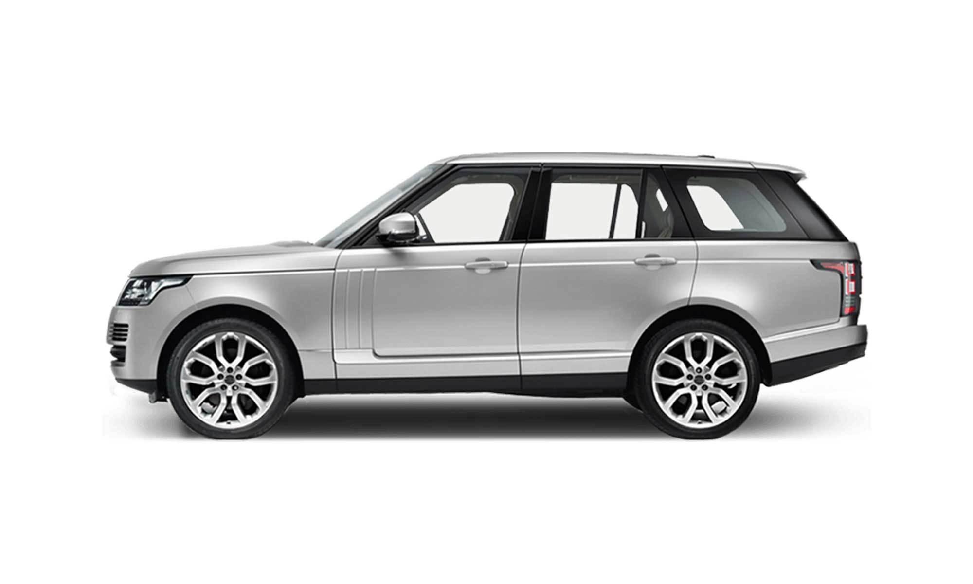Range Rover White Background 2