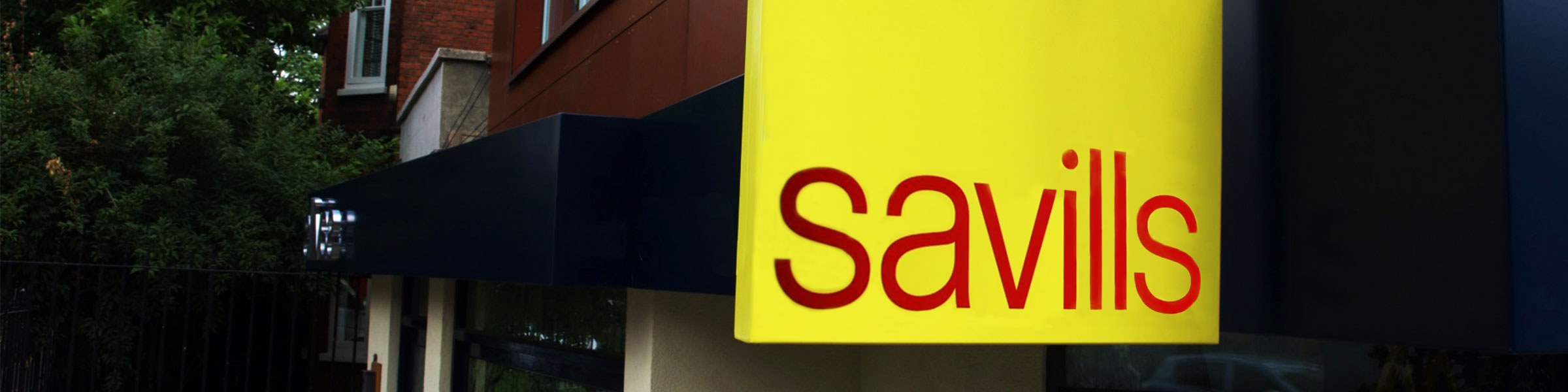 We are now working with Savills in the UK