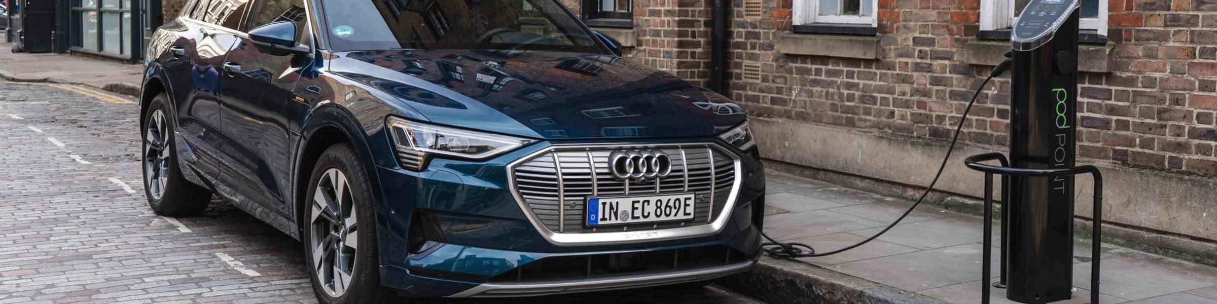 Audi E Tron Parked Blog Header