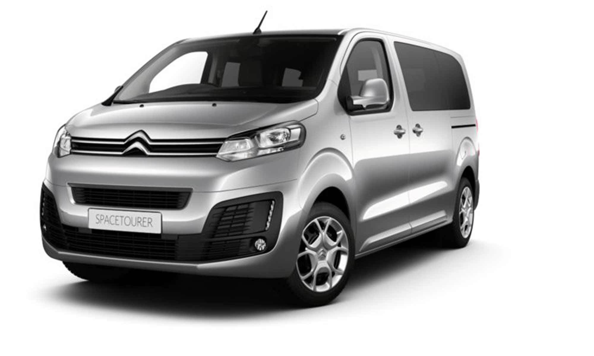 Citroen E Spacetourer White Background