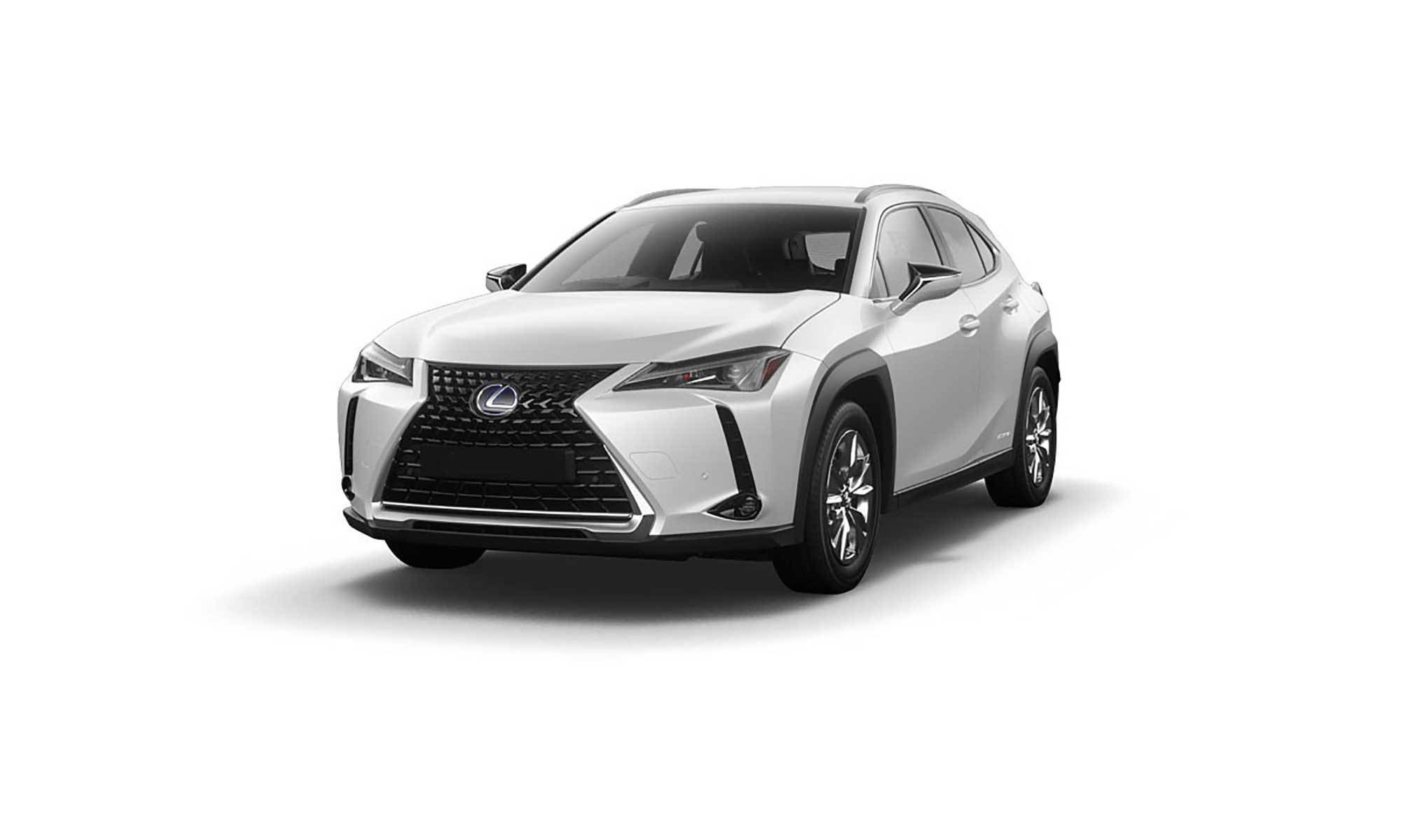 Lexus Ux 300E White Background