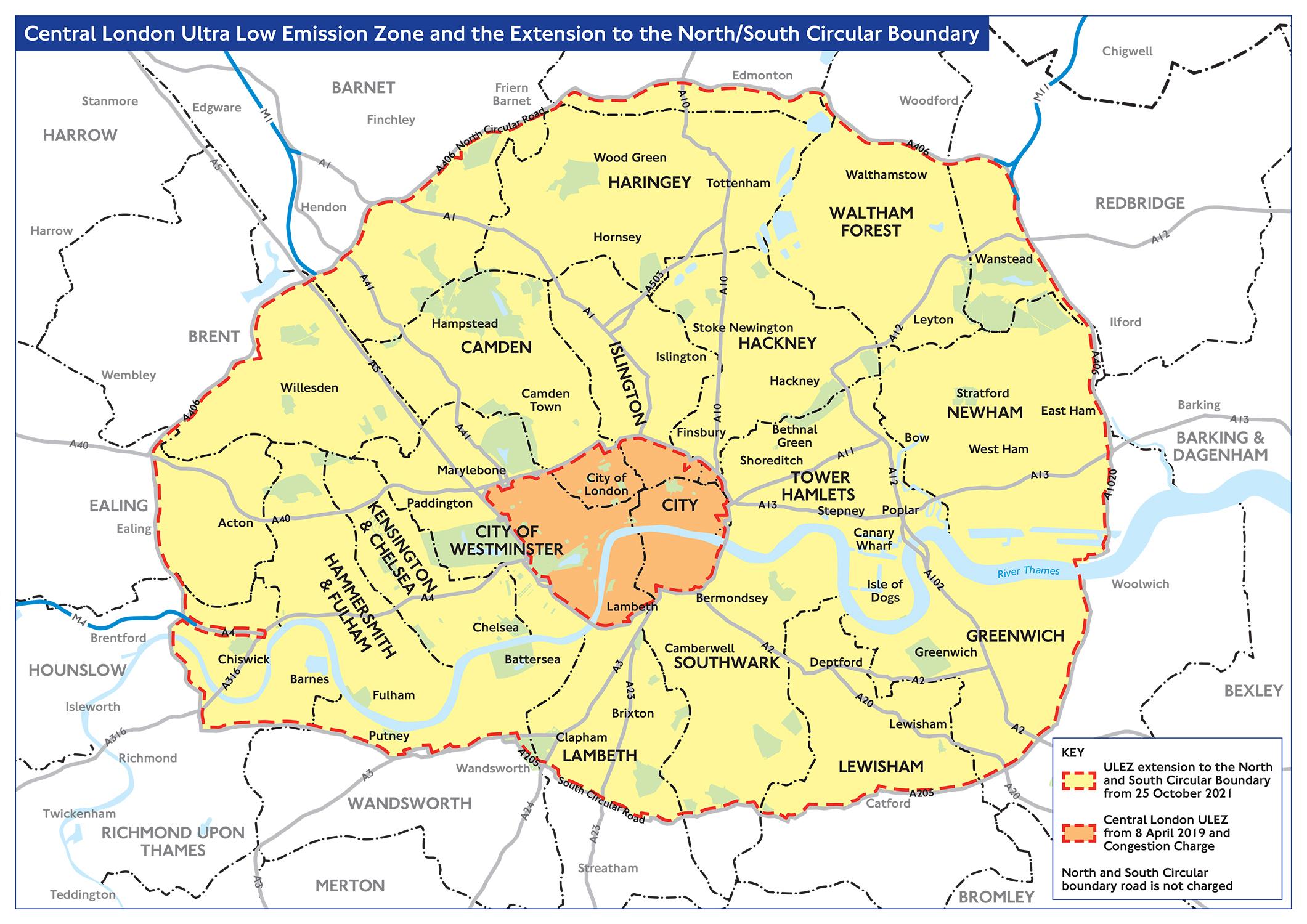 London Ulez 2021