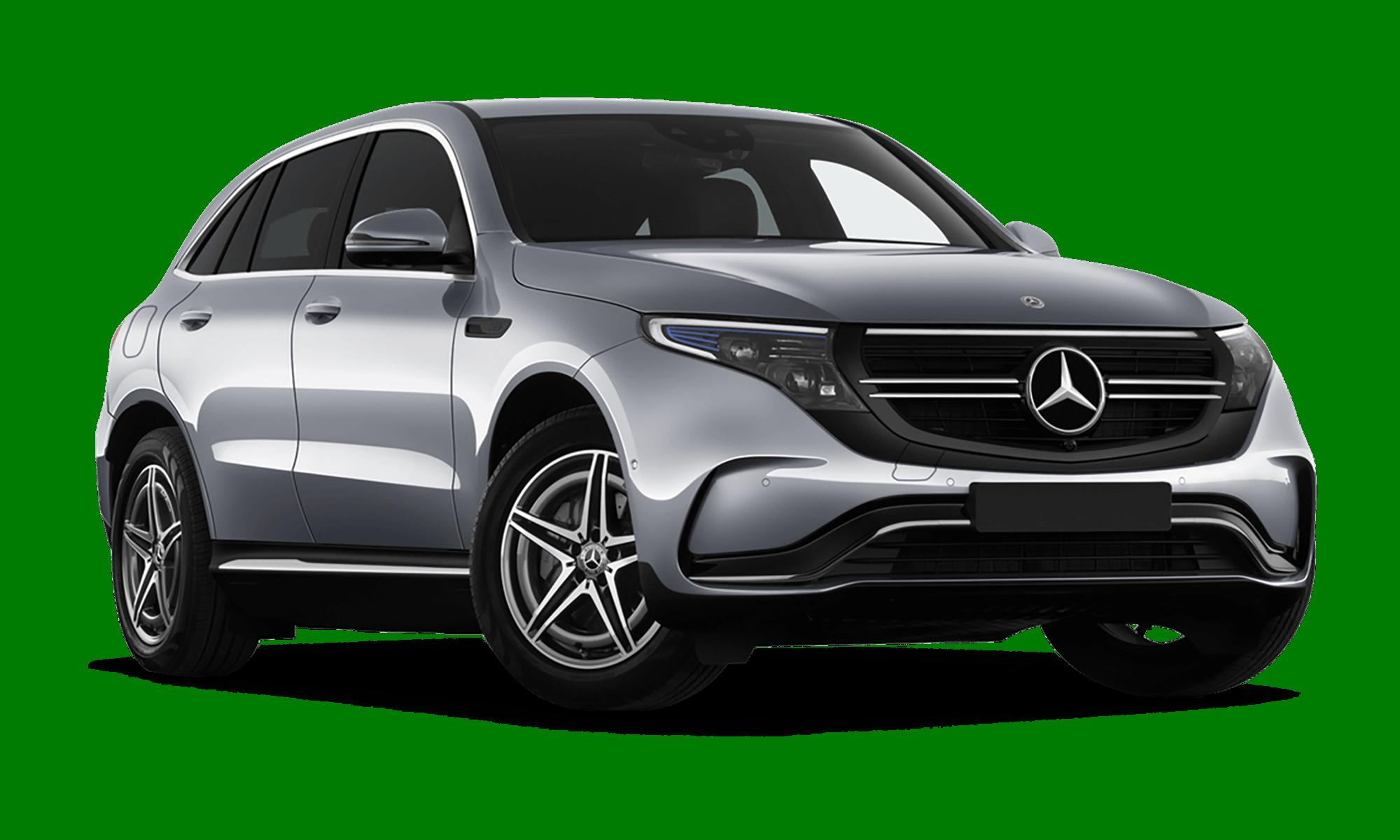 Mercedes Eqc White Background