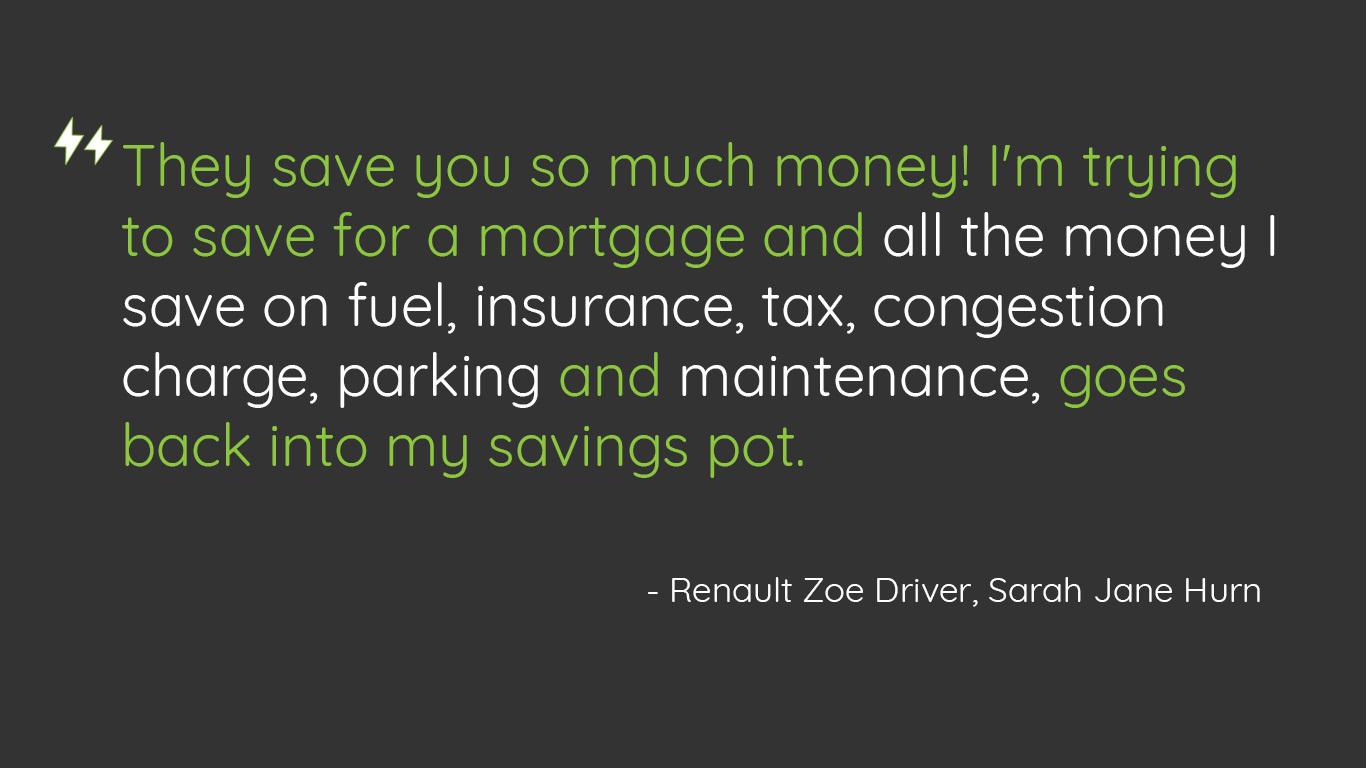 Renault Zoe Guestblog Quote