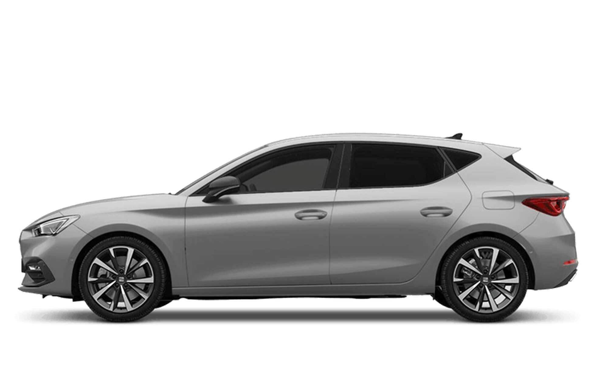 Seat Leon E Hybrid White Background