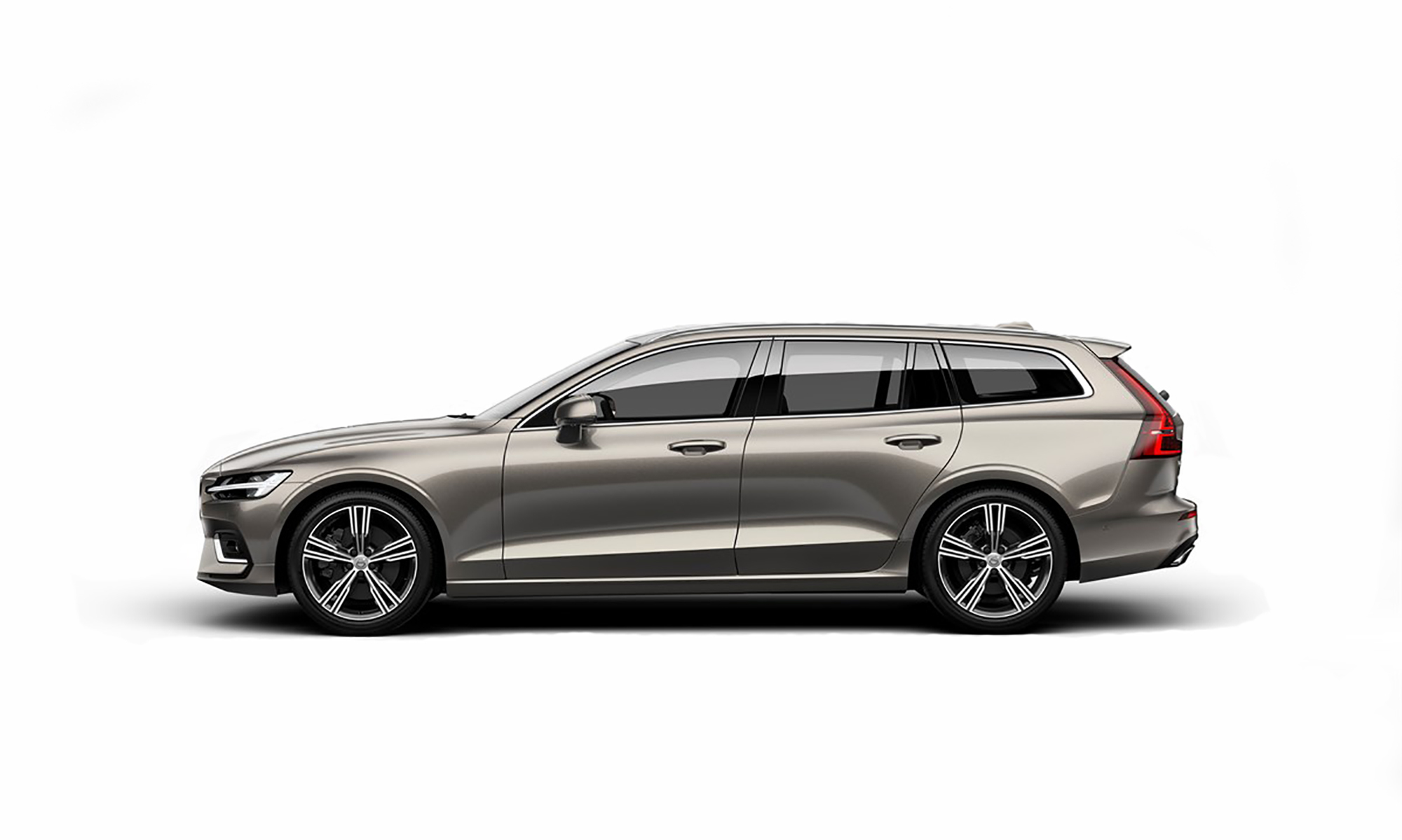 Volvo V60 2019 White Background